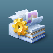 Flipping Book Icon Curasan